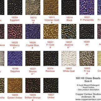 6/0, Beads